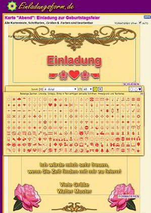 Einladungskarten kostenlos selbst gestalten und drucken - Einladungskarten geburtstag kostenlos gestalten ausdrucken ...