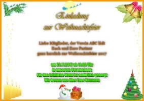 Einladungsschreiben Zur Weihnachtsfeier.Einladung Zur Weihnachtsfeier Weihnachtsgrußkarte Selbst Gestalten