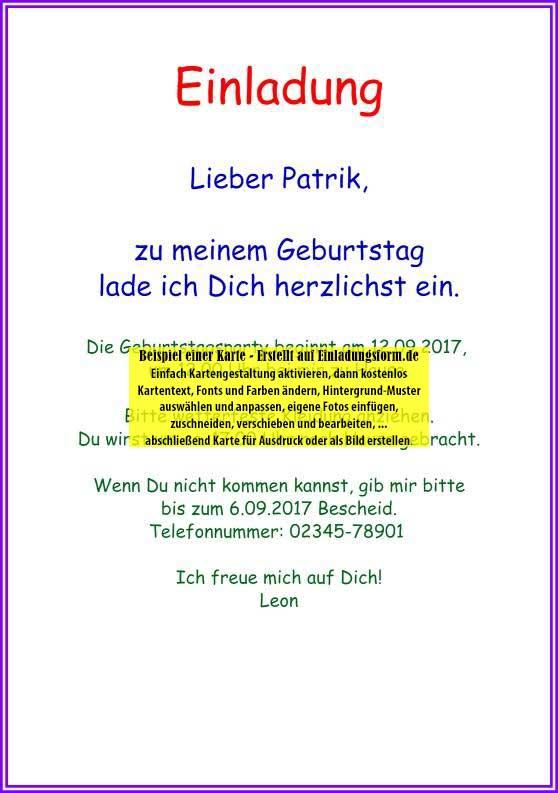 einladungsvorlage zum kindergeburtstag blank, Einladungsentwurf